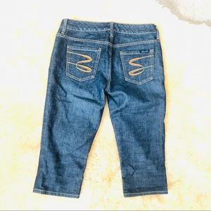Seven 7 jeans women's cropped capri pants jeans